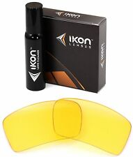 Polarized IKON Replacement Lenses For Oakley Eyepatch 1 Sunglasses - HD Yellow
