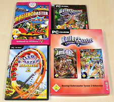 4 pc jeux collection Coaster youlin 3 & Addons soaked wild-mania 1 & 2