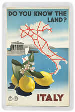 ROME ITALY FRIDGE MAGNET SOUVENIR MOD. 8 - ROMA ITALIA IMAN NEVERA