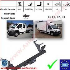 Gancio traino Citroen Jumper / Peugeot Boxer L=L1/L2/L3 2006- OMOLOGAZIONE