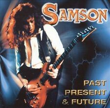 Past Present & Future by Samson (CD, Jul-1999, 2 Discs, Zoom Club/Windsong)