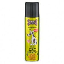 """ DRY SHAMPOO for Smelly Dogs by  'Messy Mutts'  Gentle Fresh Foam Formulation """