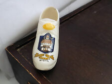 VINTAGE CHINA HOB - NAILED CLOG BY MEIR ARMS CHINA   CRESTED WIGAN
