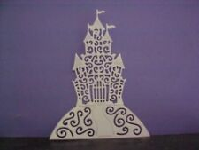 Tattered Lace  Castle Fairy Die cuts White  Card x 8