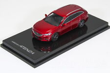 Mazda Atenza Wagon Mazda6 Soul Red Premium Metallic Dealer Box 1/64 no kyosho
