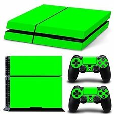 PS4 Skin & Controllers Skin Vinyl Sticker For PlayStation 4- Green