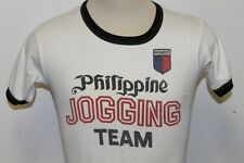 Vintage  Sample Philippino Jogging team member T-Shirt Size L