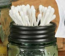 Classic Mason's Canning Fruit Jar Tapered Cup Sundry Q-Tip or Notions Holder Lid