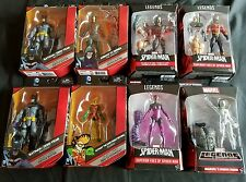 *NEW* LOT OF 8 MARVEL LEGENDS BUILD A FIGURE & DC COMICS MULTIVERSE FIGURES R2C