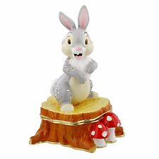 Disney Thumper Hinged Metal Die Cast Trinket Box Figurine Ornament 10cm DI340