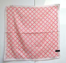 Burberry Small Scarf Pocket Square Handkerchief Handbag Tie Nova Check Unused