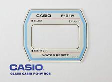 VINTAGE GLASS CASIO F-21W NOS