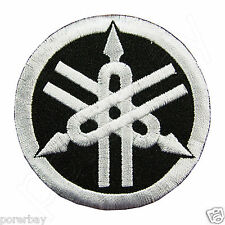 YAMAHA TUNING FORK Logo Embroidered Iron On Patch #PYH051