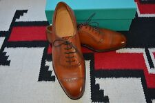 Edward Green Made in England Canterbury Chestnut Dress Shoes 82 Last US 9.5
