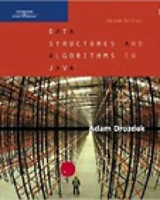 Data Structures and Algorithms in Java by Adam Drozdek (2004, Hardcover,...