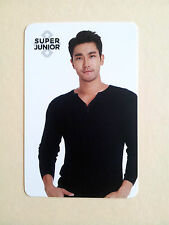 Super Junior COEX Artium SUM Official LIMITED PHOTO CARD Photocard - Siwon