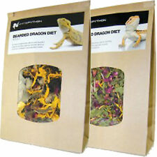 Baby Bearded Dragon DRIED Food, 100% Natural Wild Diet, Nutritionally Balanced!!