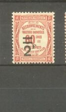 "FRANCE STAMP TIMBRE TAXE N° 54 "" 2F SUR 60c ROUGE "" NEUF xx TB"