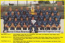 OLDHAM ATHLETIC FOOTBALL TEAM PHOTO 1990-91 SEASON