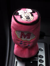 Minnie Mouse Car Accessory #Pink : Manual/Round Head Shift Knob Gear Stick Cover
