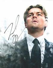 LEONARDO DiCAPRIO Signed 8 x 10 Color Photo AUTOGRAPH w/ COA Nice Pic & AUTO !