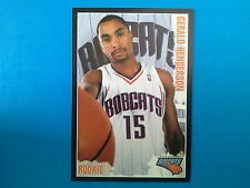 2009-10 Panini NBA Basketball n.126 Gerald Henderson Charlotte BOBCATS Rookie