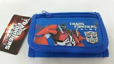 TRANSFORMERS PRIME BLUE POUCH/WALLET-TRANSFORMERS TRI-FOLD WALLET-NEW WITH TAGS!