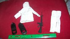 1/6th Scale GI Joe Snow Hooded Jacket, Pants, Rifle & More