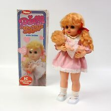 PARTS or REPAIR 1987 Vtg Diana & Sarah Toy Doll Baby Twist Blink Music 192B AIBO