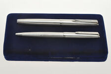 Aurora 98 vintage '60 solid silver set fountain pen + BP new pristine in box