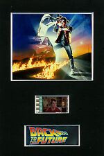 Mounted Film Cells - Back to the Future filmcell mount 1985 movie memorabilia