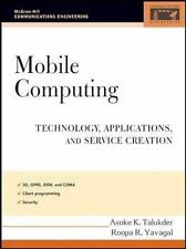 Mobile Computing: Technology, Applications, and Service Creation (McGraw-Hill Co