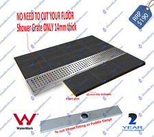 Tiler's 1000mm Shower Floor Grate Waste Drain Square Pattern Stainless Steel