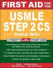 First Aid for the USMLE Step 2 CS (First Aid for the USMLE Step 2: Clinical Skil