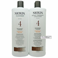 Nioxin System 4 Cleanser & Scalp Therapy Liter Duo 1 L / 33.8 fl. oz.