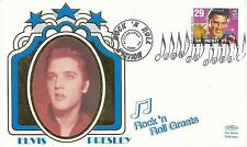 ELVIS PRESLEY - FIRST DAY COVER 030 ROCK 'N' ROLL GREATS STAMPED IN PITTSBURGH