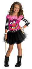 Animal Girl The Muppets Pink Monster Cute  Halloween TODDLERS Costume 2-4 NEW