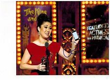 RUTHIE ANN MILES-KING AND I- ON BROADWAY Signed Photo 8x10--#8   2015 PROOF