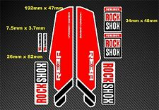 Rock Shox Reba stile Forcella Decalcomania/Adesivi rx03