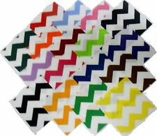 "17 10""Large Chevron Quilting Fabric Layer Cake Squares Large print!! NEW ITEM"
