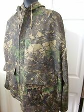 REALTREE Hunting Camo Rain Coat Raincoat Jacket SIZE XXL Dry wear EXCELLENT