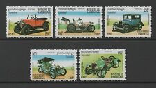 CAMBODIA 1994 MOTOR CARS SET OF 5 **FINE MINT NEVER HINGED**