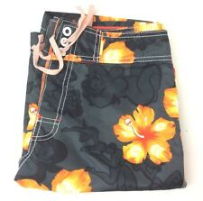 BILLABONG Board Shorts Swim Trunks Mens Size 30 - Orange/Black