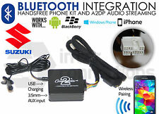 Suzuki SX4 Bluetooth streaming handsfree calls music CTASZBT001 AUX MP3 iPhone