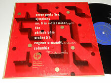 PROKOFIEV Ormandy VG+ Alex Steinweiss Art Philadelphia Orch. Columbia ML 4328