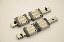 Misumi SSEBV16 Linear Motion Rail 150mmL, 2 Rails - 4 Blocks