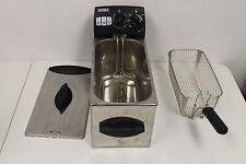 ULTREX Stainless Steel Electric Deep Fryer Model 08303