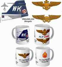 "VMA(AW)-224 ""Bengals"" A-6 Intruder Mug with FREE personalization"