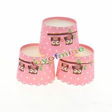 50pcs Paper Cupcake Liner Cake Case Muffin Baking Cup Wedding Birthday Party