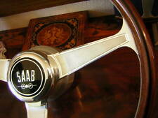 "Saab 95 96 Monte Carlo Nardi Wood Steering Wheel 15"" NOS New"